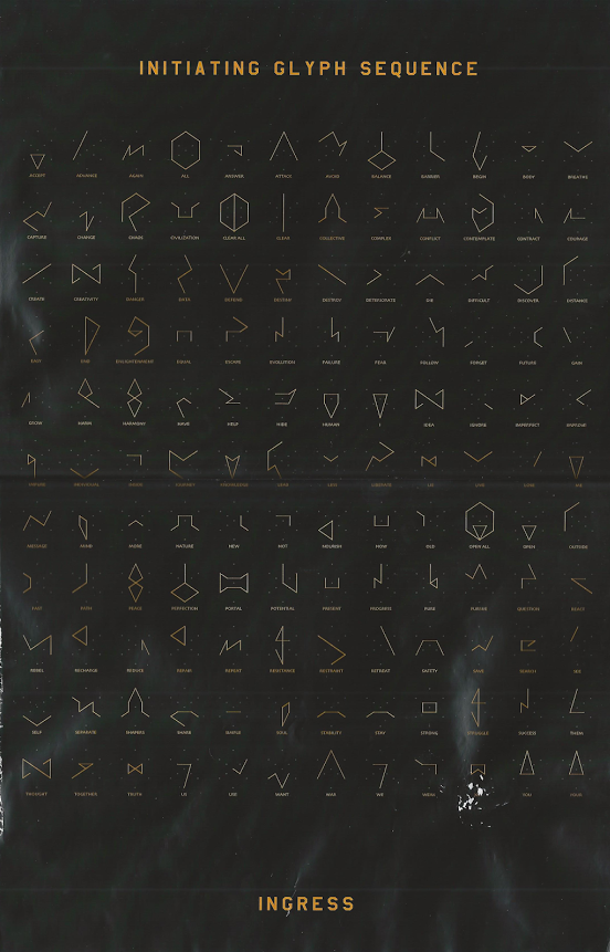 Glyph Poster