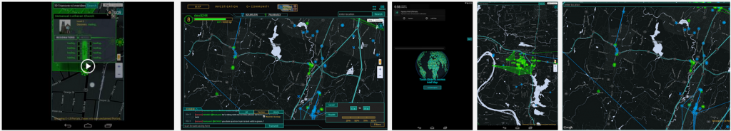 Ingress Intel map ultimate